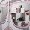 "modulnaya sistema porte fashion academy 6 100x100 - Мебель для подростковой комнаты ""Портэ фэшн академия"""