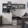 """podrostkovaya modylnaya sistema rumika 8 100x100 - Мебель для подростковой комнаты """"Румика"""""""